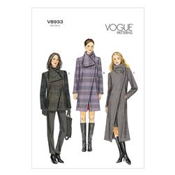 Vogue Misses' Coat Pattern V8933 Size B50