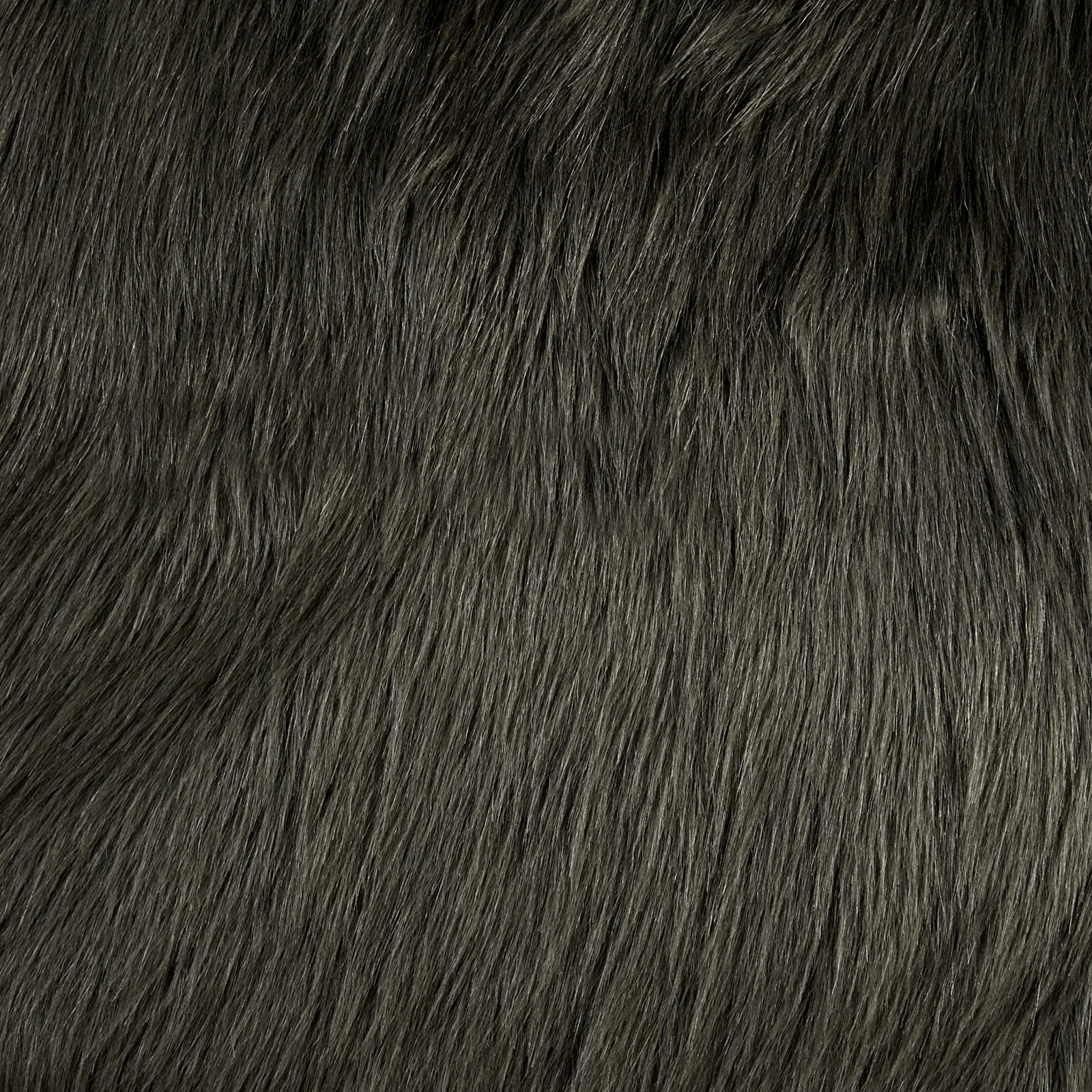 Image of Shannon Luxury Faux Fur Arctic Fox Steel Fabric