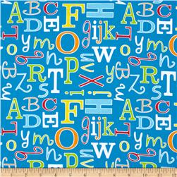 ABC Safari Letter Blue