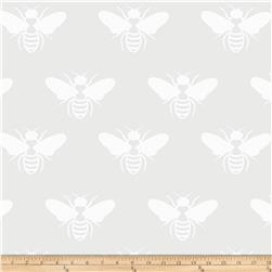 Opalescent Bumblebee White
