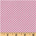 Windham Modern Country Dotted Diamond  Raspberry