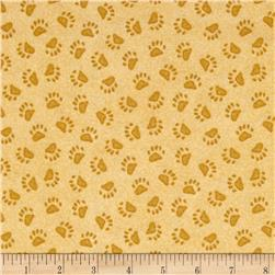 Boyds Bears Paw Print Yellow