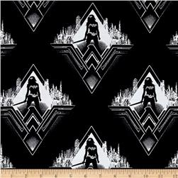 DC Comics Batman v Superman Dawn of Justice Wonder Woman Silhouette Black