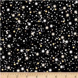 Kanvas Celebration Metallic Star Confetti Black