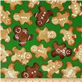 Winter Novelties II Gingerbread Green