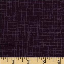 110 In. Wide Quilt Back Betula Flannel Purple
