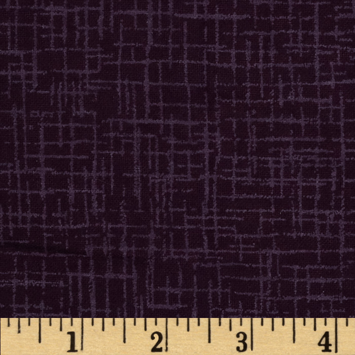 110 In. Wide Quilt Back Betula Flannel Purple Fabric by Westrade in USA