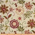 Richloom Solarium Outdoor Alinea Floral Kir Red