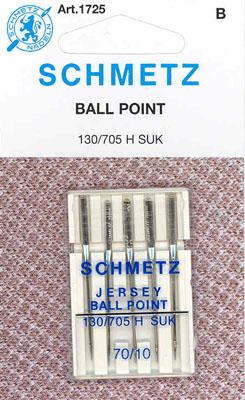 Schmetz Ball Point Machine Needles 10/70