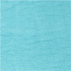 Rayon Spandex Jersey Knit Soft Mint Blue