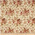 "108"" Wide Quilt Back Floral Multi"