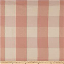 "Laura & Kiran 4"" Check Plaid Canvas Blush"