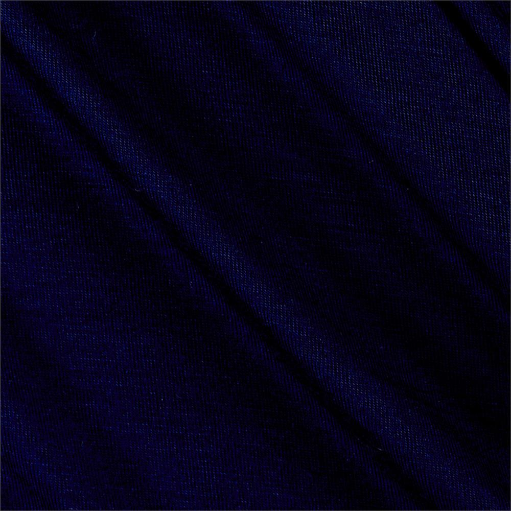 Rayon Spandex Jersey Knit Navy Blue Fabric By The Yard