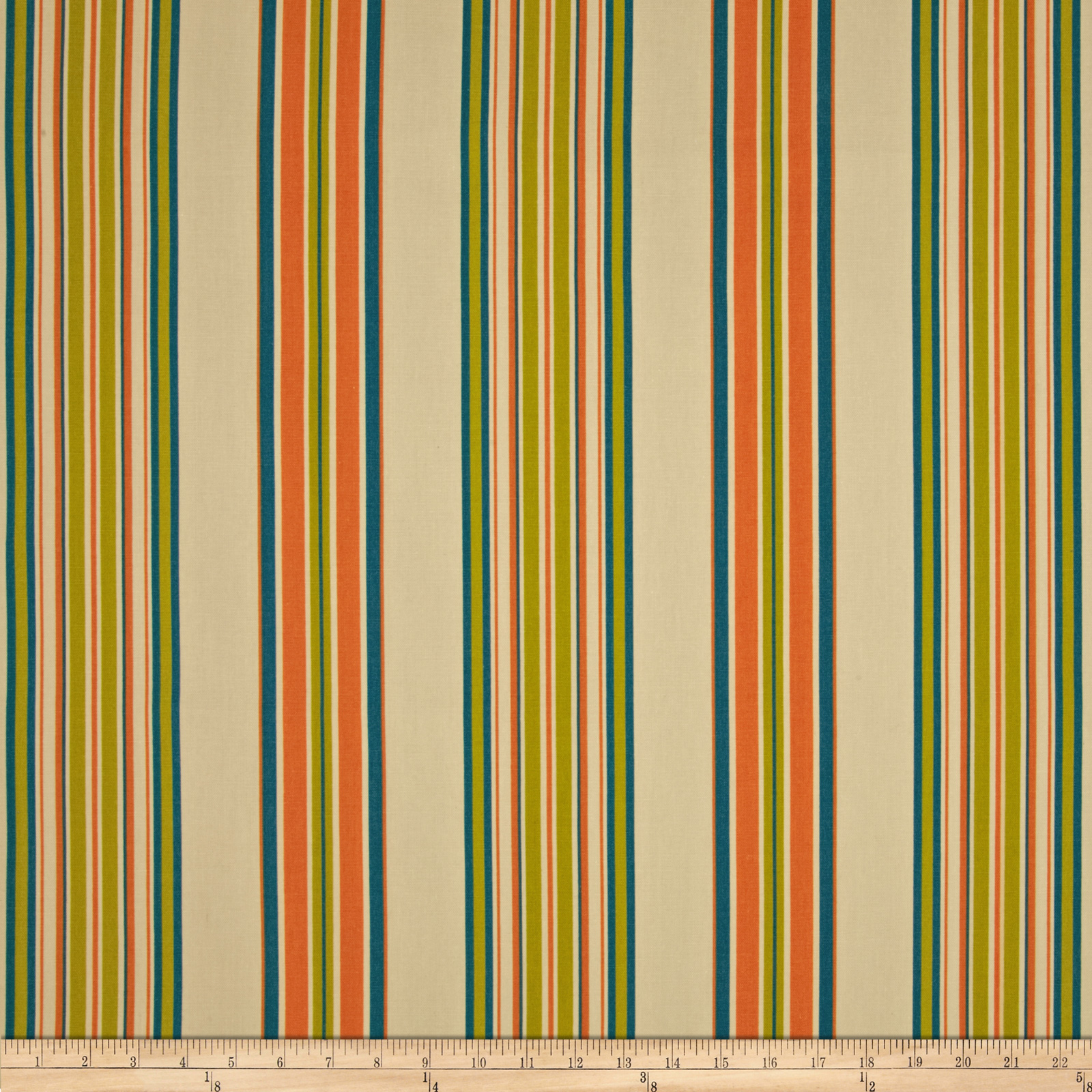 Duralee Home Hype Stripe Autumn Fabric