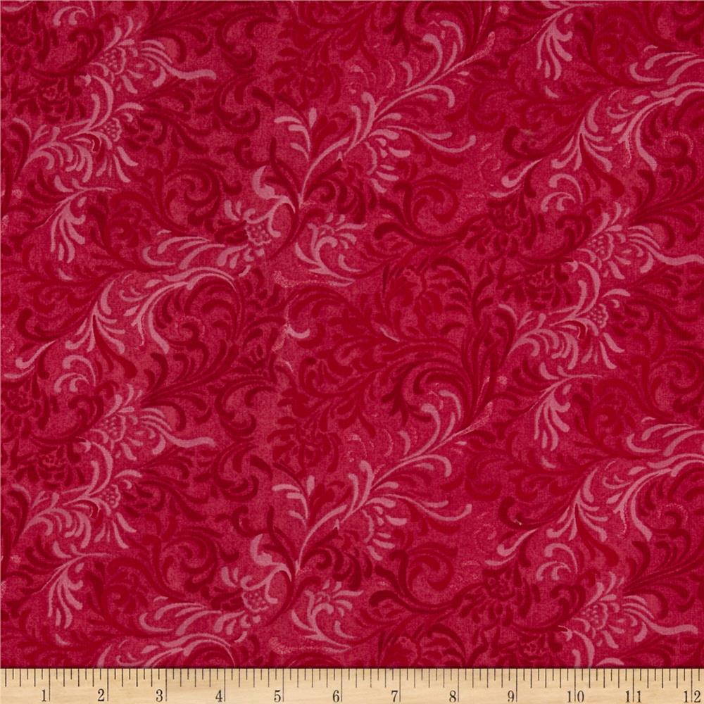 "108"" Essential Flourish Quil Back Fuchsia"