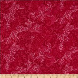 "108"" Essential Flourish Quilt Backing Fuchsia"