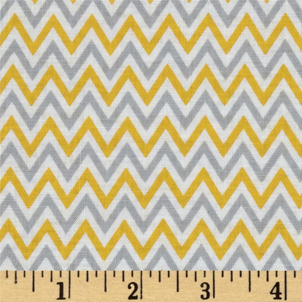 Fox Playground Chevron Yellow