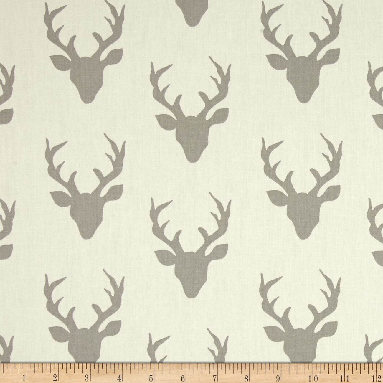 Art Gallery Hello Bear Buck Forest Silver Fabric by Art Gallery in USA