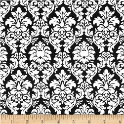Michael Miller Petite Paris Petite Dandy Damask Black