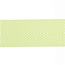 "May Arts 1 1/2"" Chevron Twill Ribbon Spool Celery"