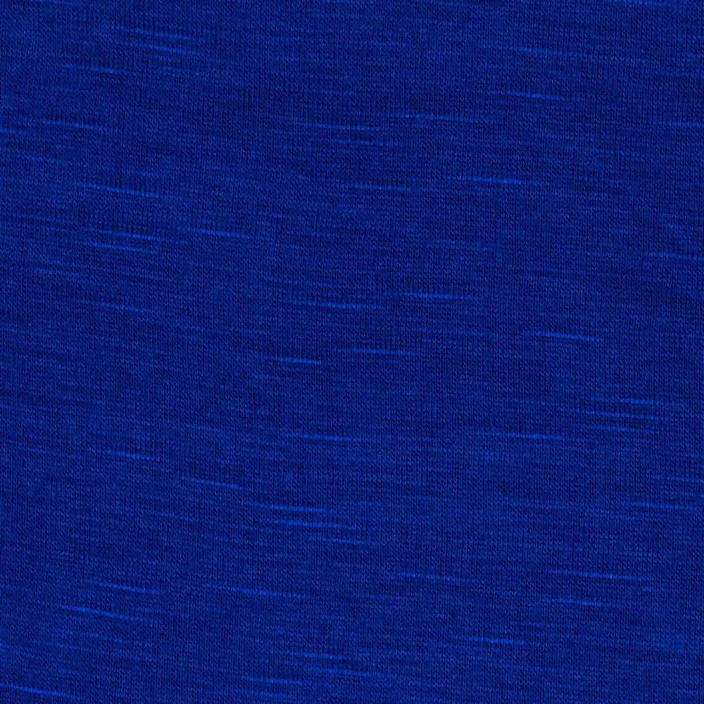 Rayon Slub Jersey Knit Dark Royal Blue
