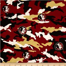 Florida State University Cotton Camouflage Garnet/Gold