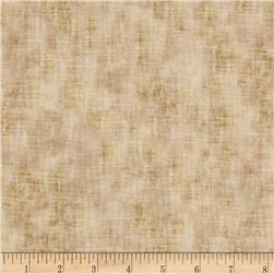 Timeless Treasures Jewel of the Garden Linen Texture Khaki