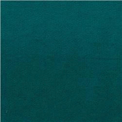 Stretch Rayon Bamboo French Terry Knit Teal
