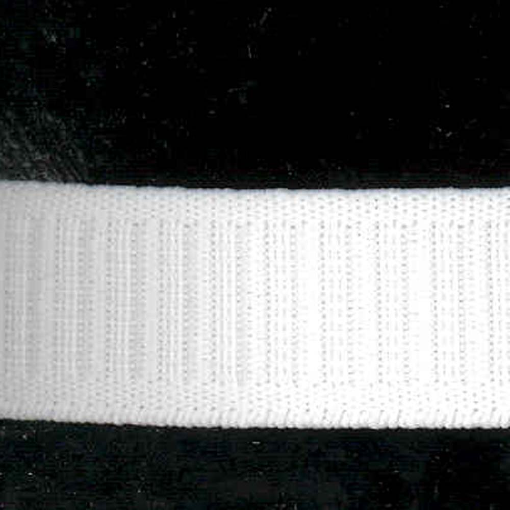 1'' White Flat No-Roll Elastic by Notions Marketing in USA