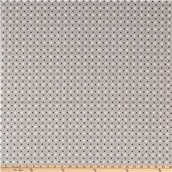 Riley Blake Bee Basics Polka Dot Gray