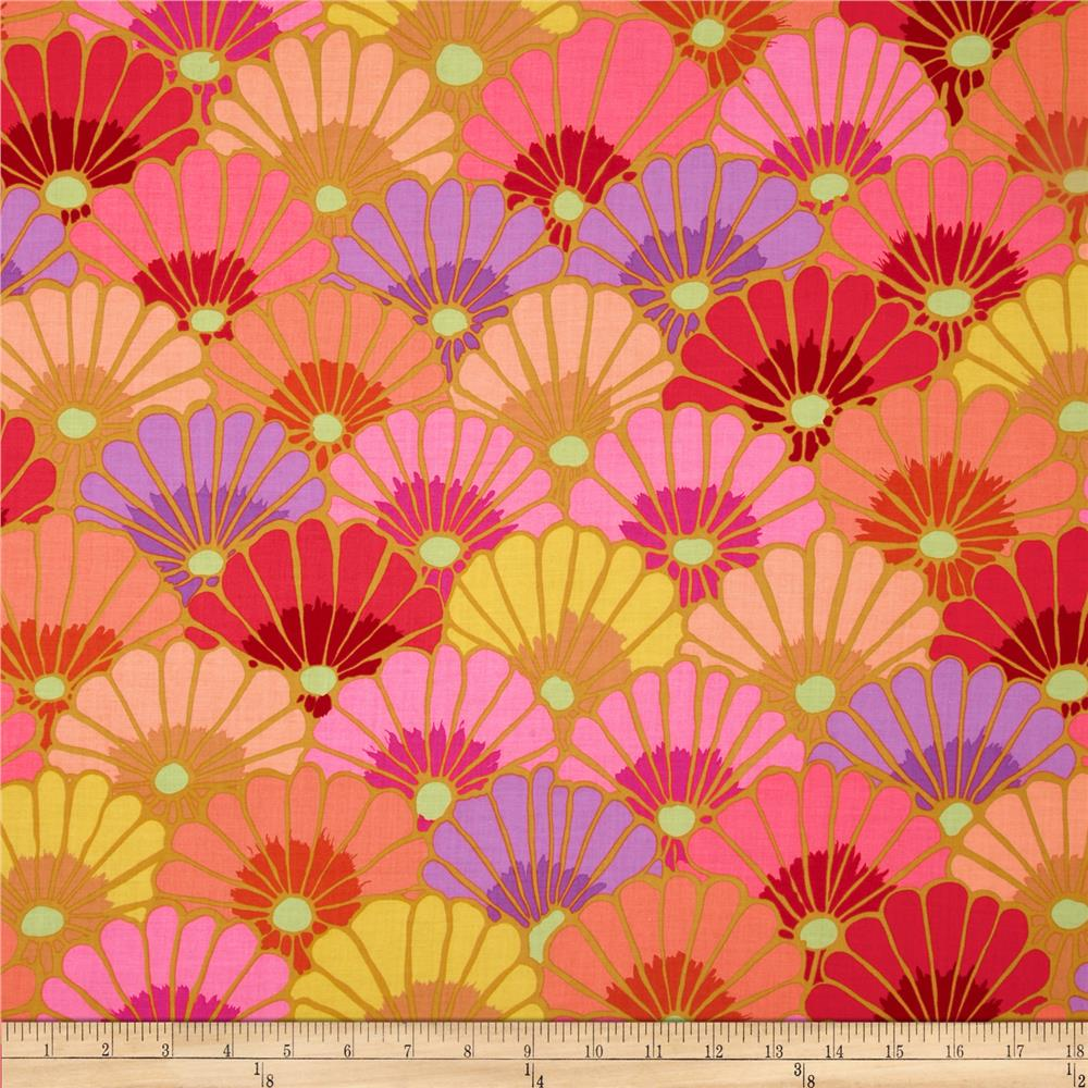 Kaffe Fassett Collective Thousand Flowers Pink Discount Designer
