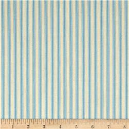 "44"" Ticking Stripe Blue"