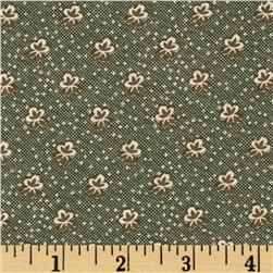 Molly B's 1800's Simply Christmas Foulard Green