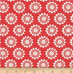 Oh Clementine Sun Medallions Red