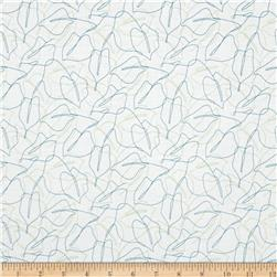 Contempo Zentastic Scribble Leaf White/Multi