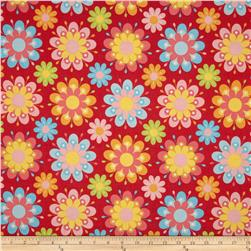 Riley Blake Just Dreamy 2 Large Floral Red