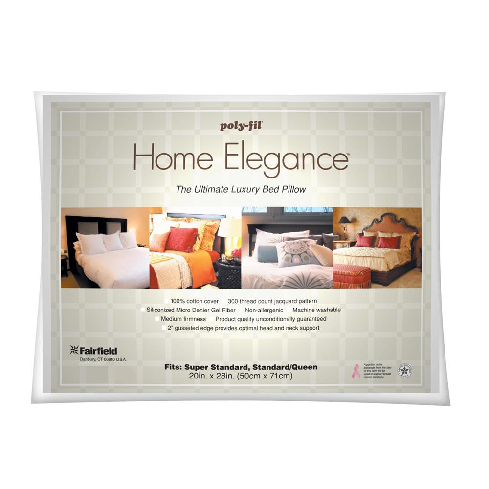 Fairfield Home Elegance Standard/Queen Bed Pillow 20'' x