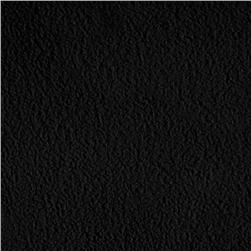 WinterFleece Micro Chamois Black Fabric