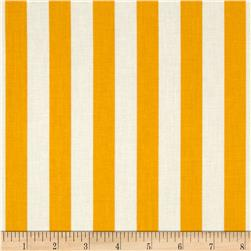 Fresh Market Stripe Yellow Fabric