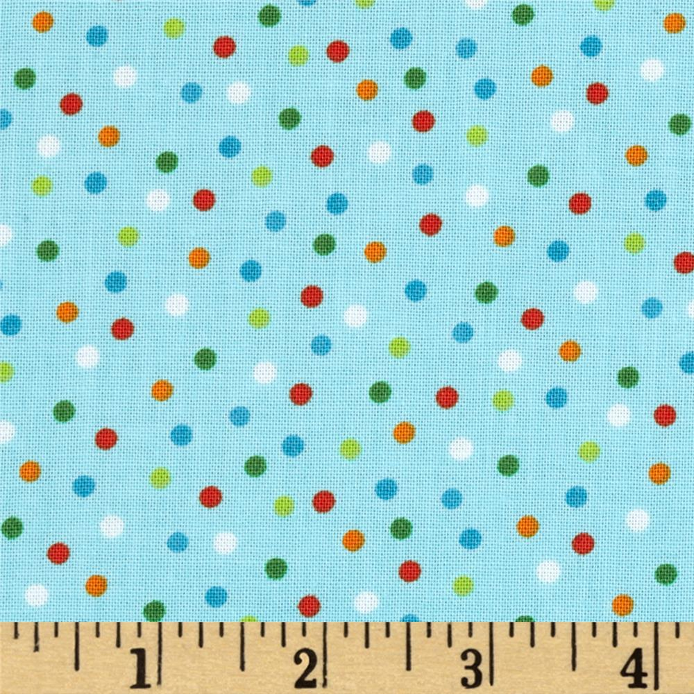 Kaufman Remix Scattered Small Dots Bermuda