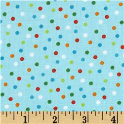 Robert Kaufman Remix Scattered Small Dots Bermuda