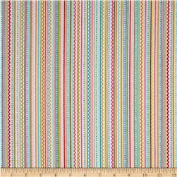 Riley Blake Summer Breeze Flannel Stripe Multi
