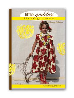 Tina Givens Little Goddess Dress Pattern