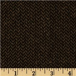 Boucle Coating Small Check Brown/Black
