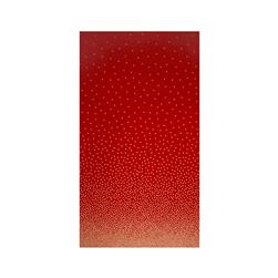 Michael Miller Holiday Glitz Confetti Border Cherry