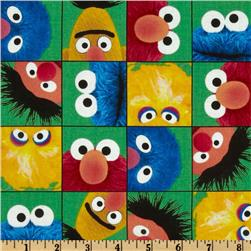 Welcome to Sesame Street Faces Green
