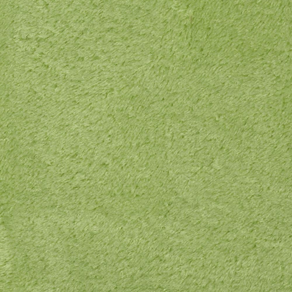 Whisper Coral Fleece Solid Celery Fabric By The Yard