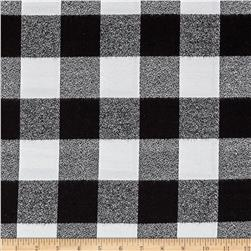 Kaufman Mammoth Flannel Buffalo Check Large White
