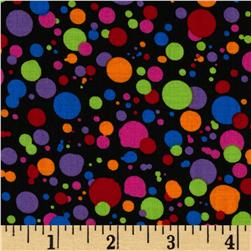 Large Dots Multi/Black