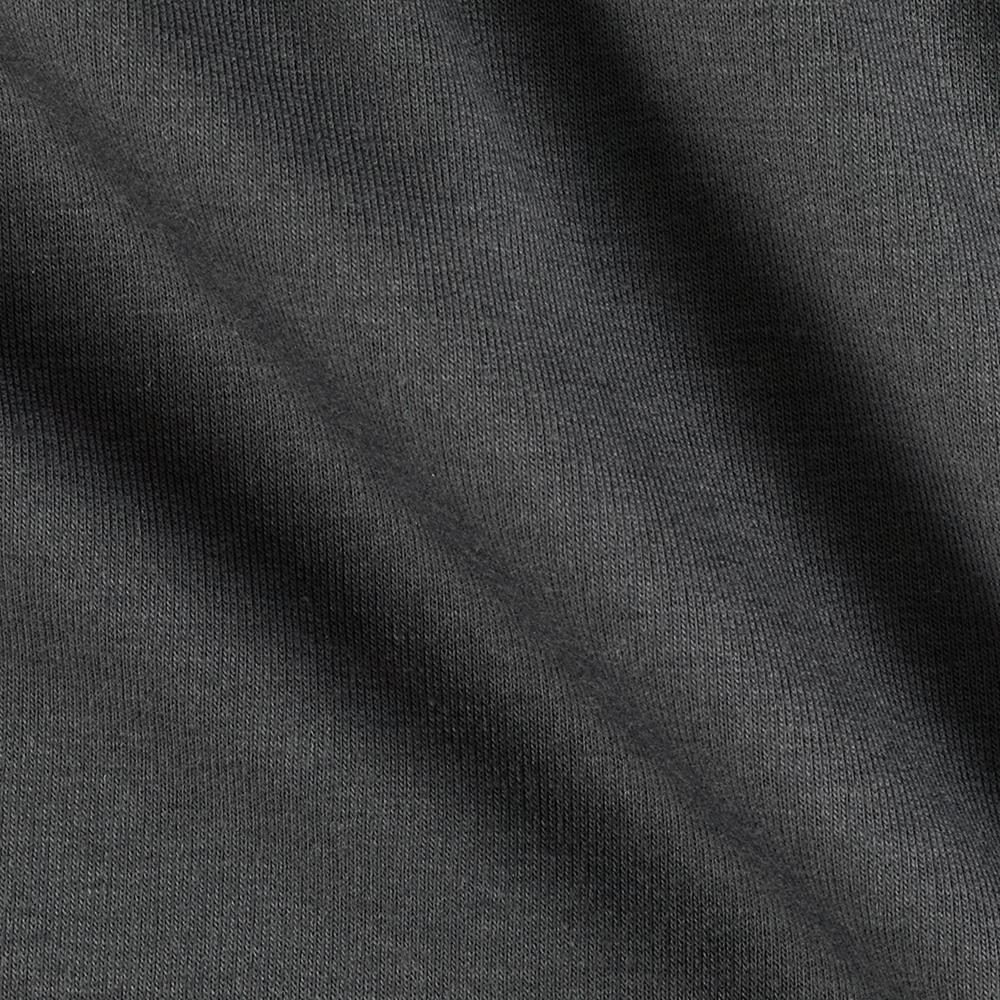 Telio Stretch Bamboo Rayon French Terry Knit Charcoal